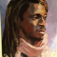 Peinture à l'huile de Charles