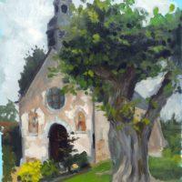 petite église près de Gallardon