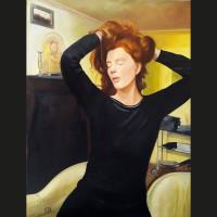 Absence, 116 x 89 cm, huile sur toile