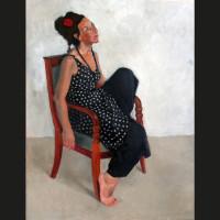 Anne huile sur toile, 65 x 54 cm, 2006