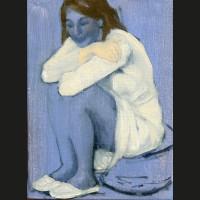 Confondue acrylique et huile sur toile, 22 x 16 cm, 2010