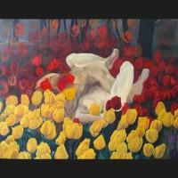 Confusion hollandaise huile sur toile, 162 x 130 cm, 2008