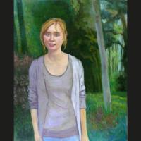 Eline huile sur toile, 41 x 33 cm, 2008