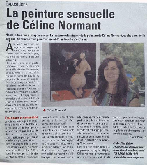 Le courrier des Yvelines exposition 2014