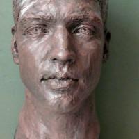 Morgan 4  18 x 42 x 27 cm terre cuite patinee