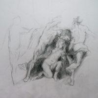 Rubens détail, Louvre