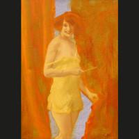 Promesses acrylique et huile sur toile, 27 x 19 cm, 2010