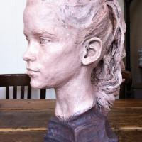 Stella, terre cuite patinee, 43 x 24 x34 cm (6)