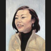 Xian huile sur toile, 35 x 27 cm, 2007
