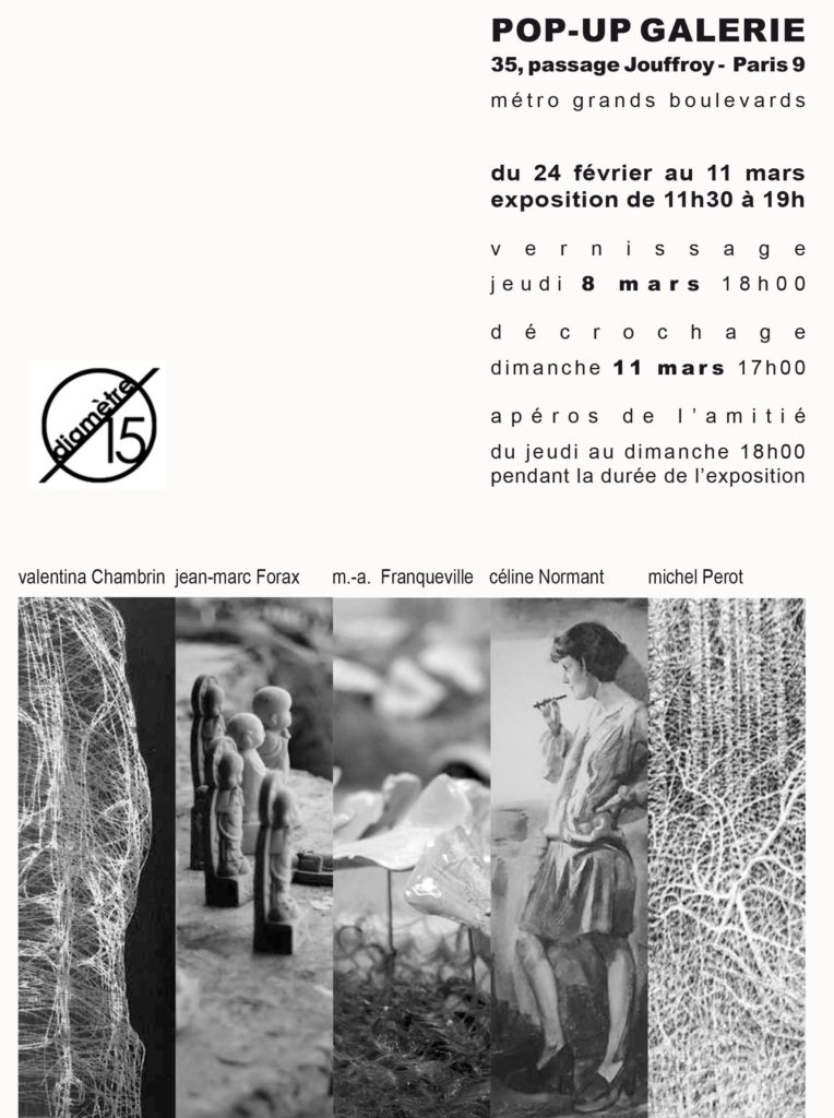 invitation pop up Galerie